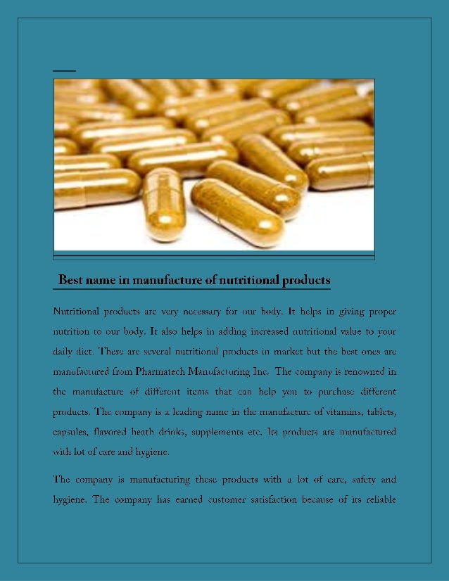 Wholsale supplements
