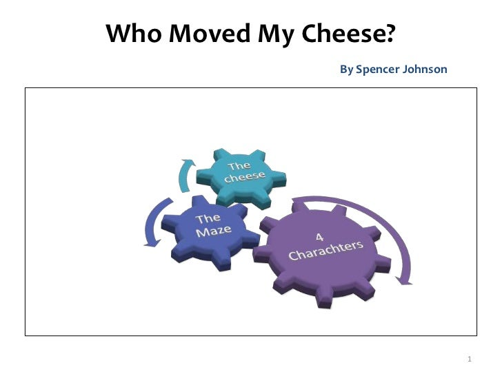 who moved my cheese essay idea