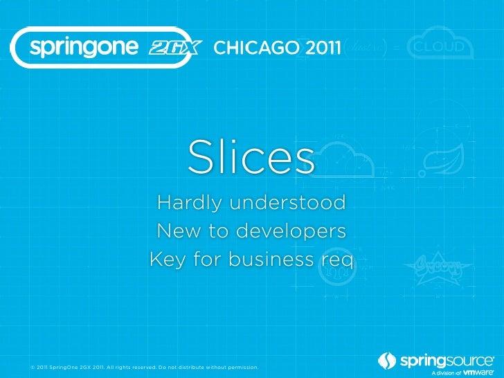 Slices                                             Hardly understood                                             New to de...