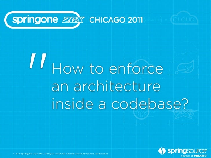 """""""                      How to enforce                                  an architecture                                  in..."""