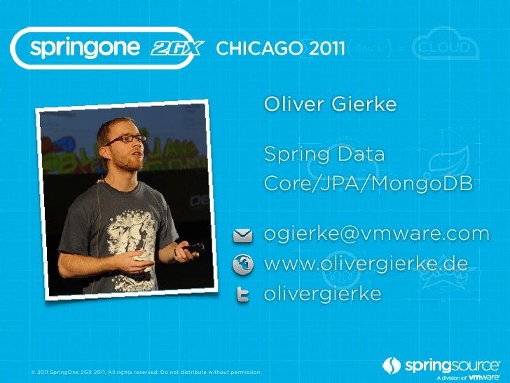 Oliver Gierke                                                                                        Spring Data          ...