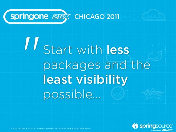 """""""                      Start with less                                  packages and the                                  ..."""