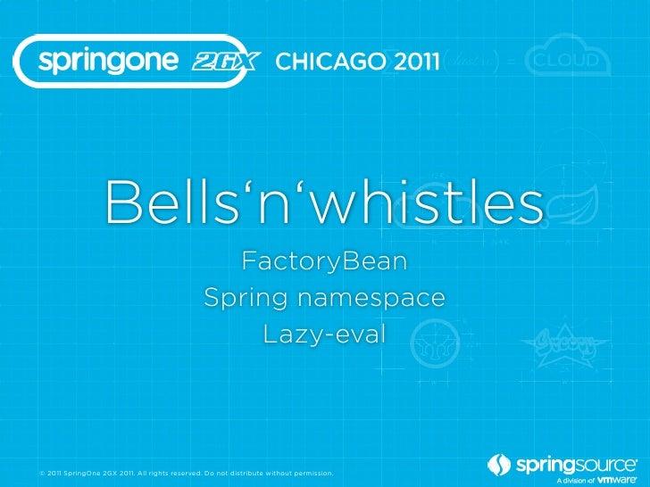 Bells'n'whistles                                                 FactoryBean                                              ...