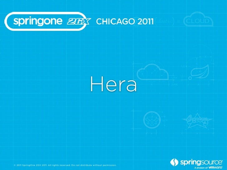 Hera© 2011 SpringOne 2GX 2011. All rights reserved. Do not distribute without permission.