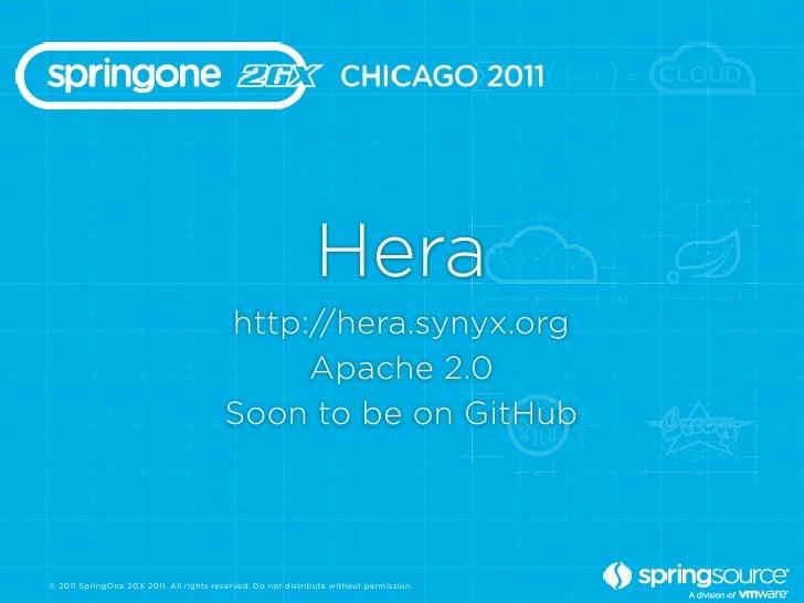 Hera                                         http://hera.synyx.org                                              Apache 2.0...