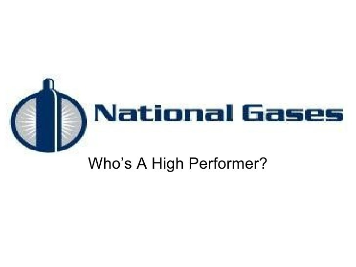 Who's A High Performer?