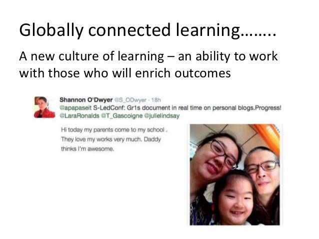 We have the tools, we have the pedagogies, it's time to connect the world!? Part 2: Online Global Collaboration