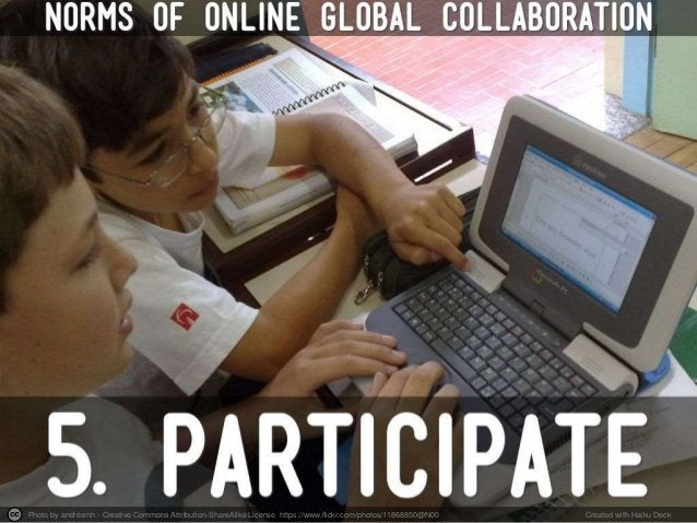 Norms of Online Global Collaboration