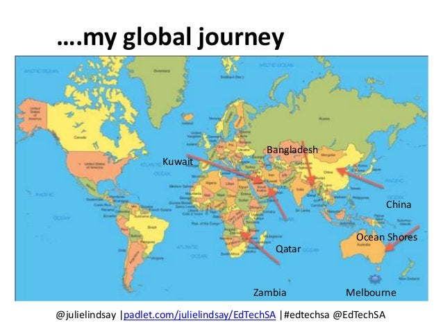 @julielindsay  padlet.com/julielindsay/EdTechSA  #edtechsa @EdTechSA Yes! and…… Can you complete the sentence? ….add to Pa...