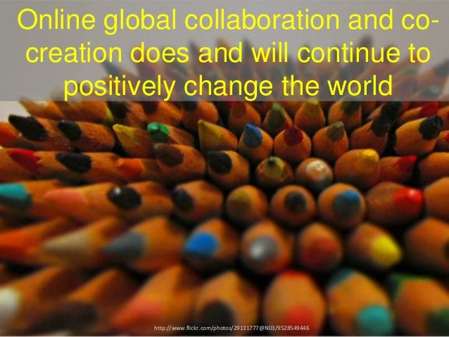 Who said online global collaboration is hard?