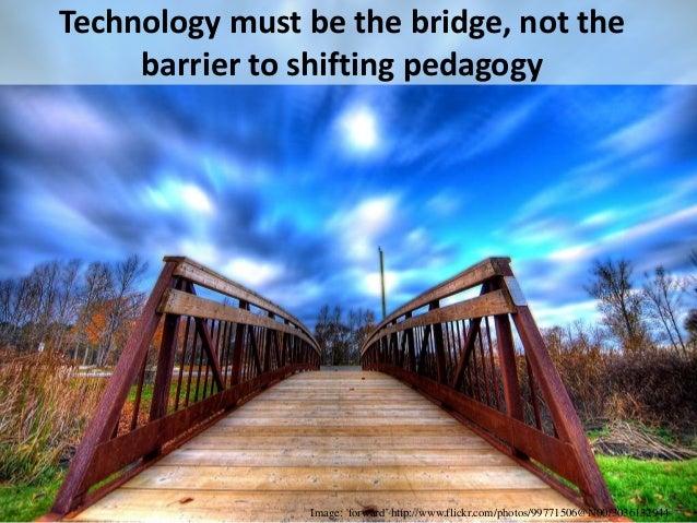 From Pedagogy………. ………..to 'Cosmogogy'?