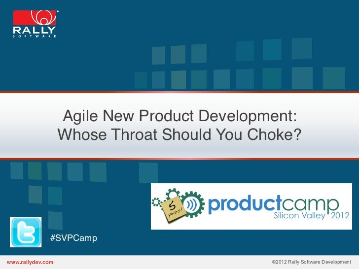 Agile New Product Development: