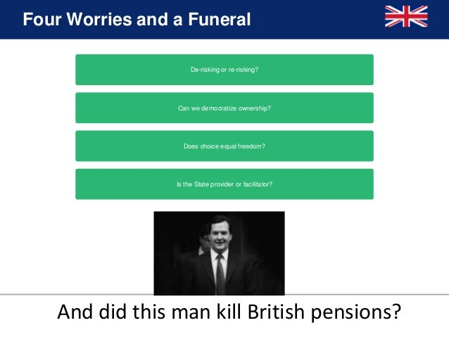 who killed the private sector db plans When you die, it might continue to be paid to your spouse, civil partner or  dependents  if you're in a private sector defined benefit pension scheme or a  funded.