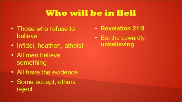 Whos who in hell