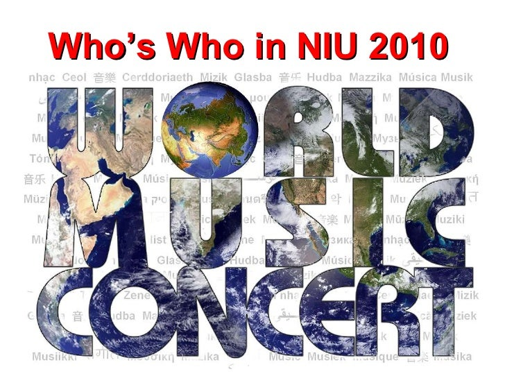 Who's Who in NIU 2010