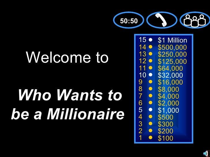 15 14 13 12 11 10 9 8 7 6 5 4 3 2 1 $1 Million $500,000 $250,000 $125,000 $64,000 $32,000 $16,000 $8,000 $4,000 $2,000 $1,...