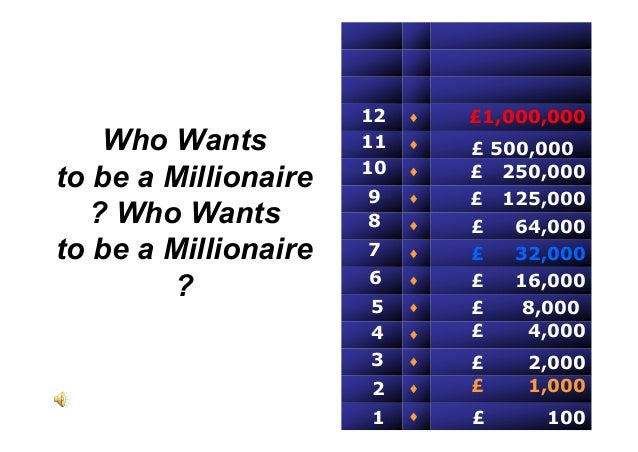 how do you play who wants to be a millionaire