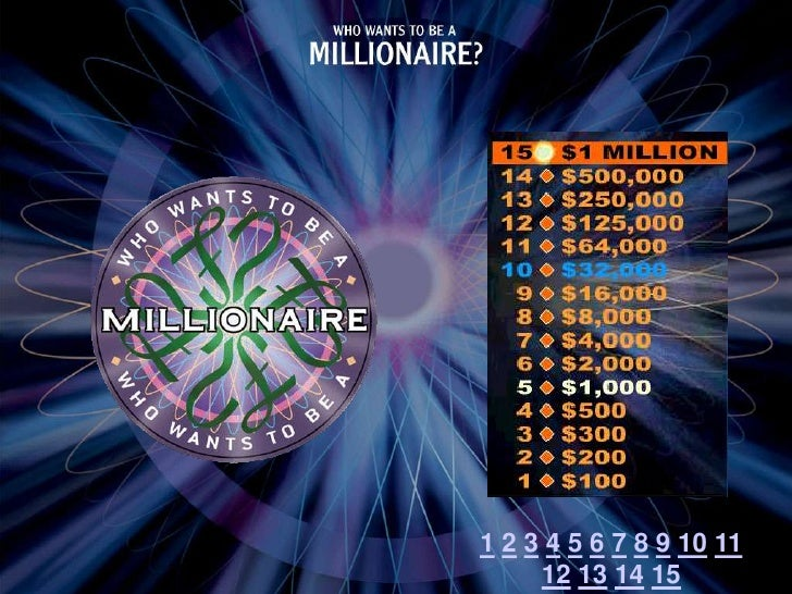 who wants to be a millionaire transpiration, Powerpoint templates