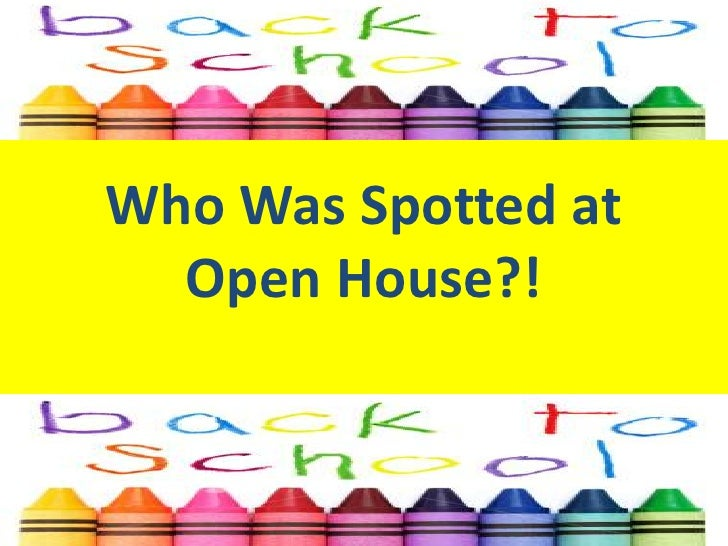 Who Was Spotted at Open House?!<br />