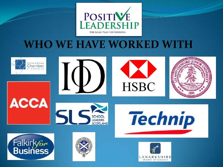 WHO WE HAVE WORKED WITH<br />