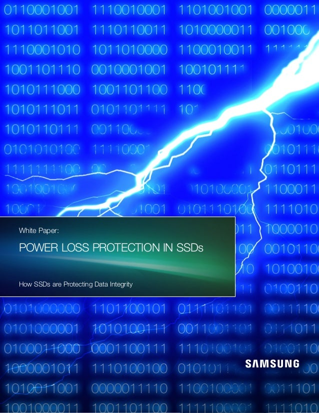 Power Loss Protection How SSDs are Protecting Data Integrity