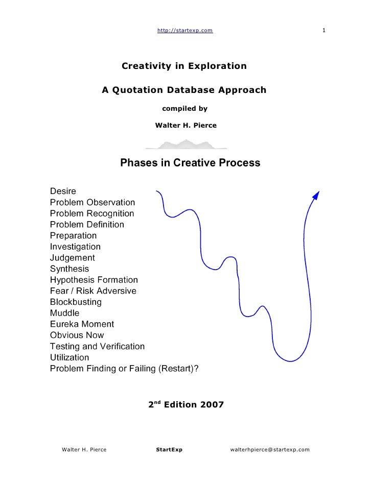http://startexp.com                                1                        Creativity in Exploration                A Quo...