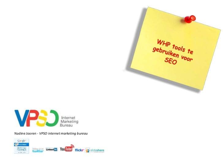 Nadine Jooren - VPSO internet marketing bureau