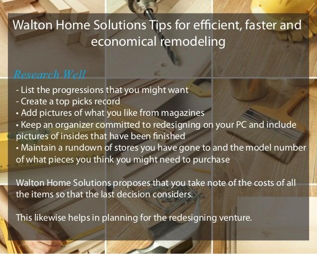 Preparing for a Home Remodel Slide 3