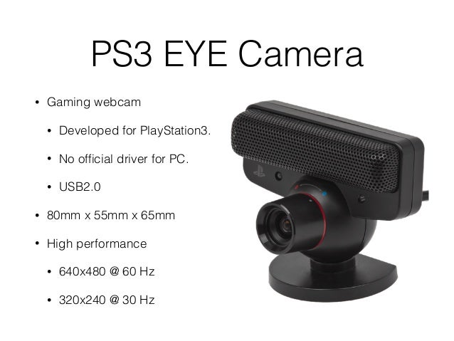PS3 Eye Camera - free driver download FOUND
