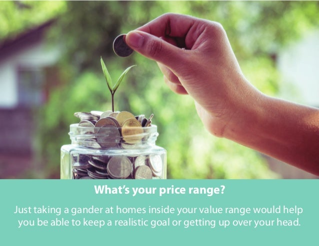 What's your price range? Just taking a gander at homes inside your value range would help you be able to keep a realistic ...
