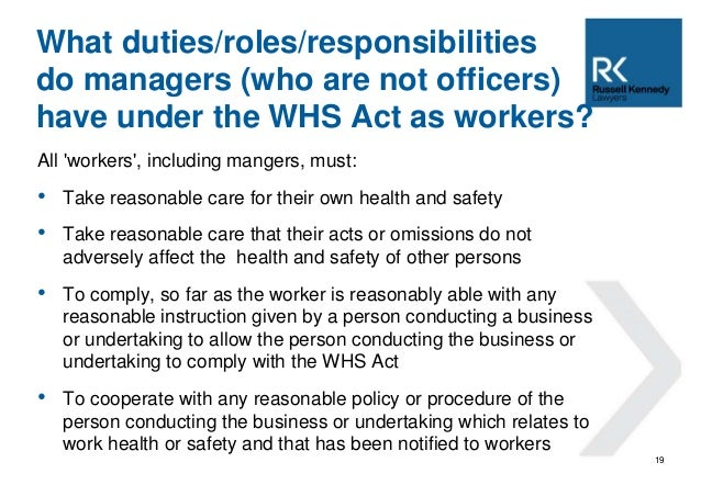 Whs Risks Overview For Public Sector Managers
