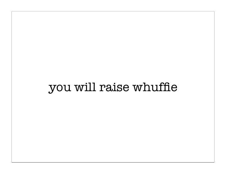 Design Whuffie