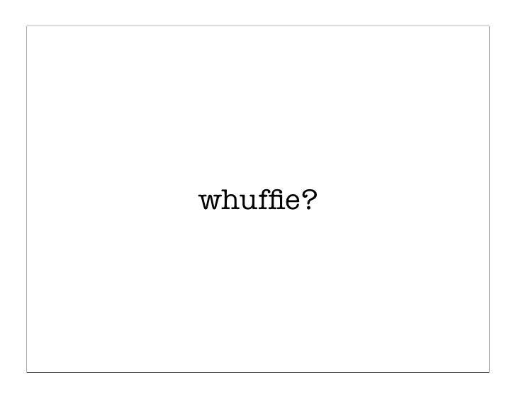 whuffie?