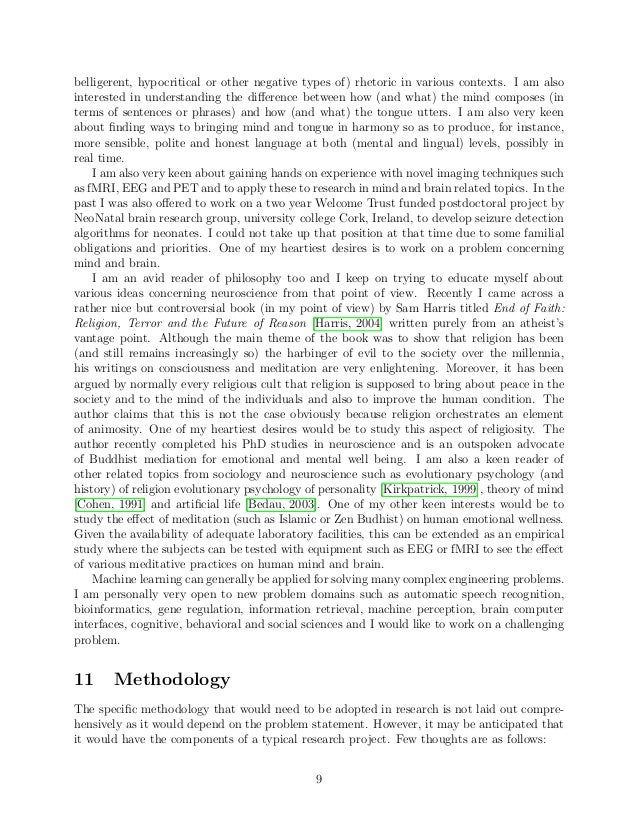 statement of research interests pdf