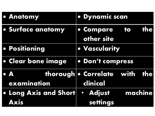 Why should we do musculoskeletal sonography?