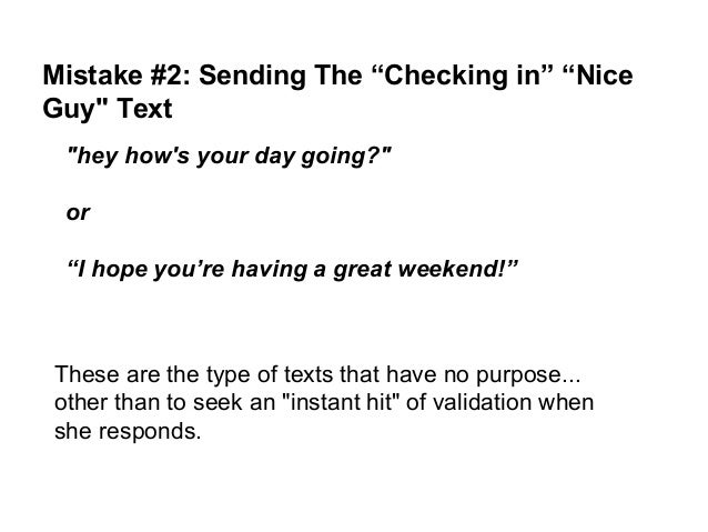 what to text a guy back