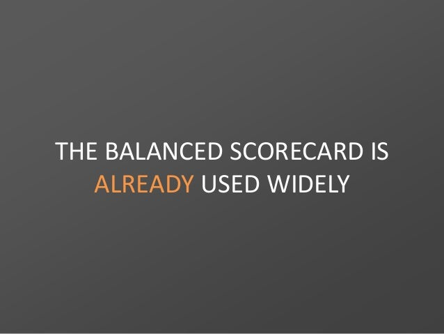 Why Balanced Scorecard and BSC Designer Slide 2