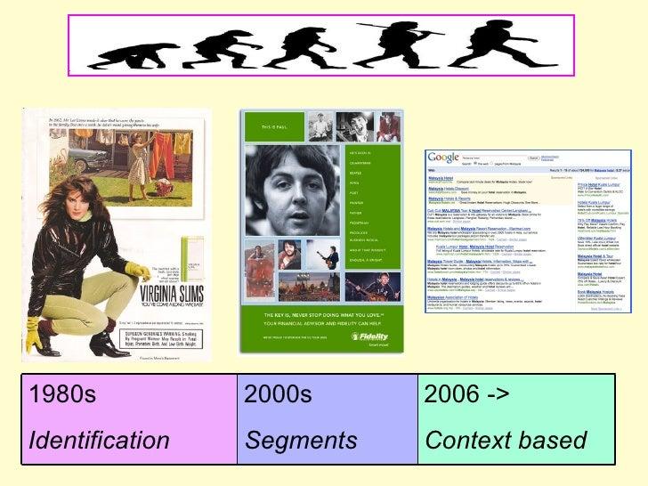 2006 -> Context based 2000s  Segments 1980s Identification
