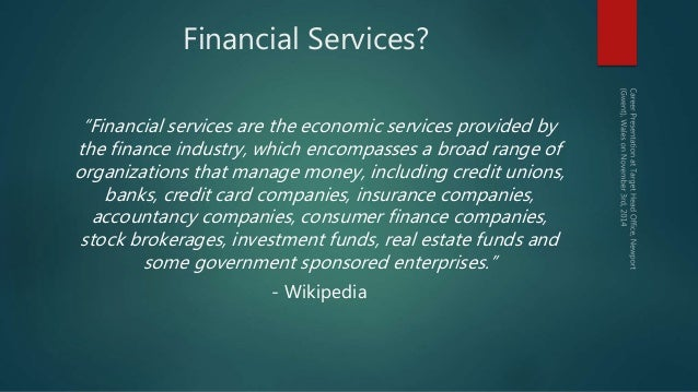 Why Choose A Career In Financial Services A Graduate S