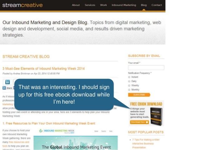That was an interesting. I should sign up for this free ebook download while I'm here!