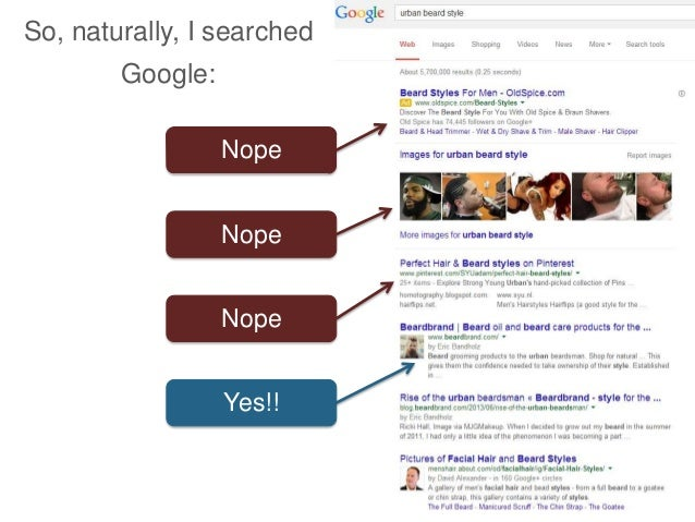 So, naturally, I searched Google: Nope Nope Nope Yes!!