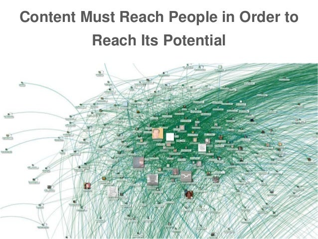 Content Must Reach People in Order to Reach Its Potential