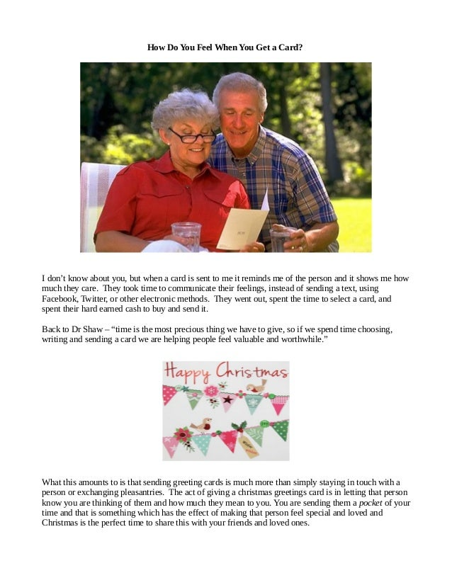 3 - When To Send Christmas Cards