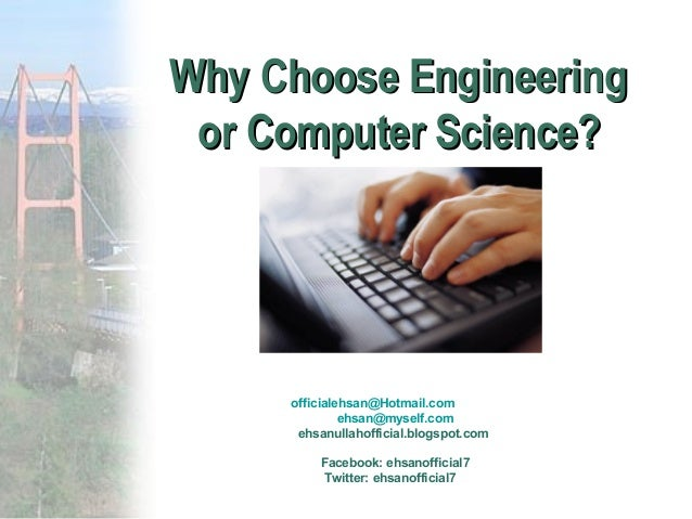Why choose computer science essay
