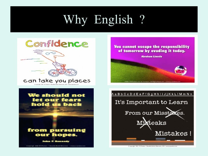 Why  English  ?