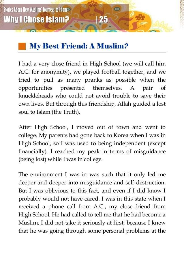 Why I Chose Islam?