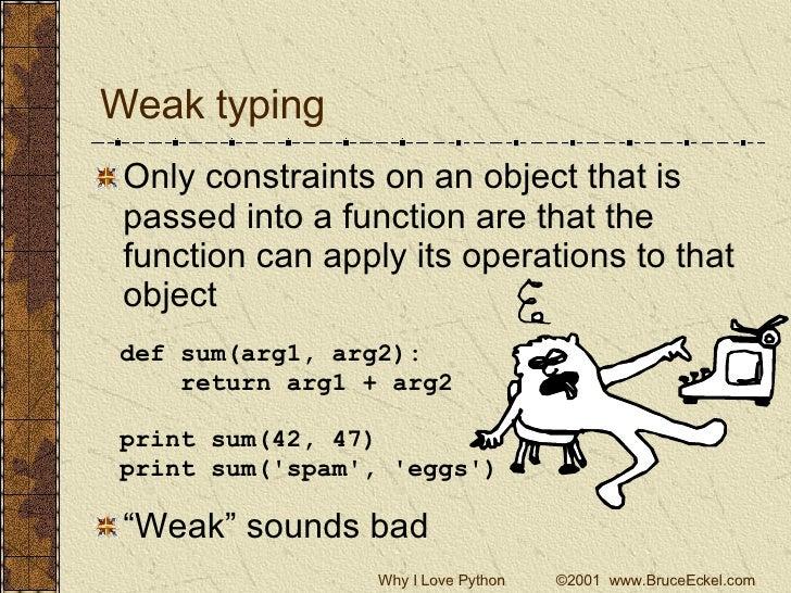 Why I Love Python