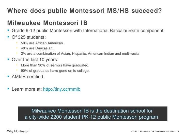 Why Montessori