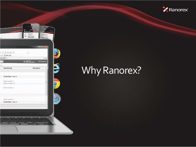 Why Ranorex?
