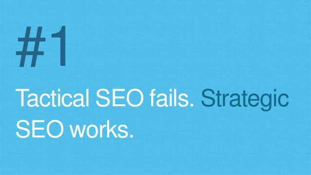 Why SEO That Used to Work, Fails Slide 3